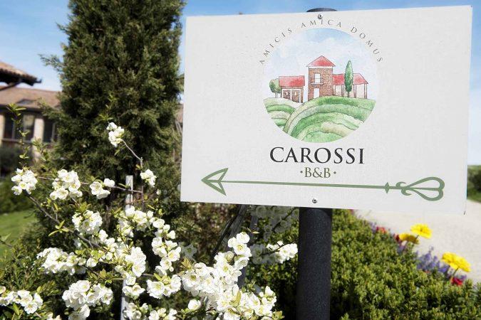 Carossi B&B - Insegna