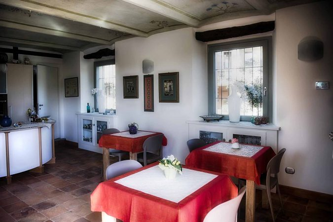 Carossi B&B – Breakfast room